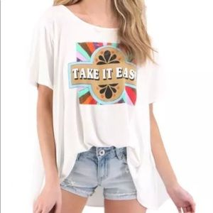 """Judith March """"Take It Easy"""" Tee"""